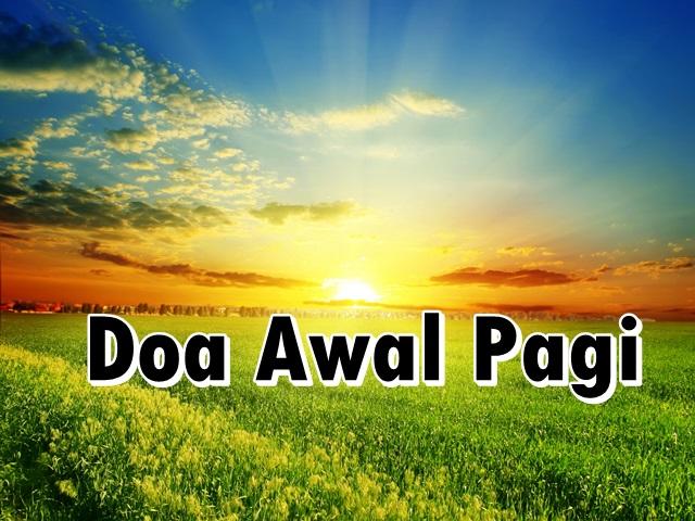 Doa Awal Pagi