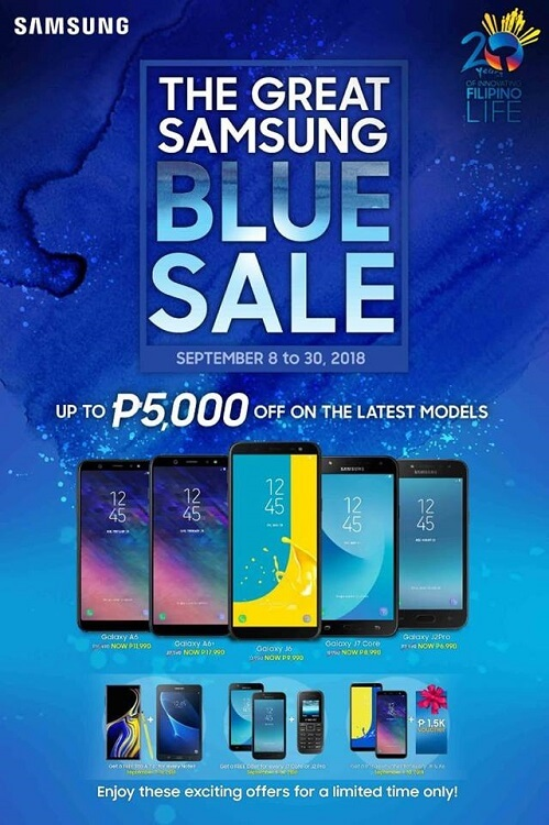 Samsung Philippines Intros Great Blue Sale