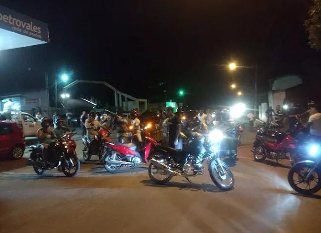 Protesto em Joaíma