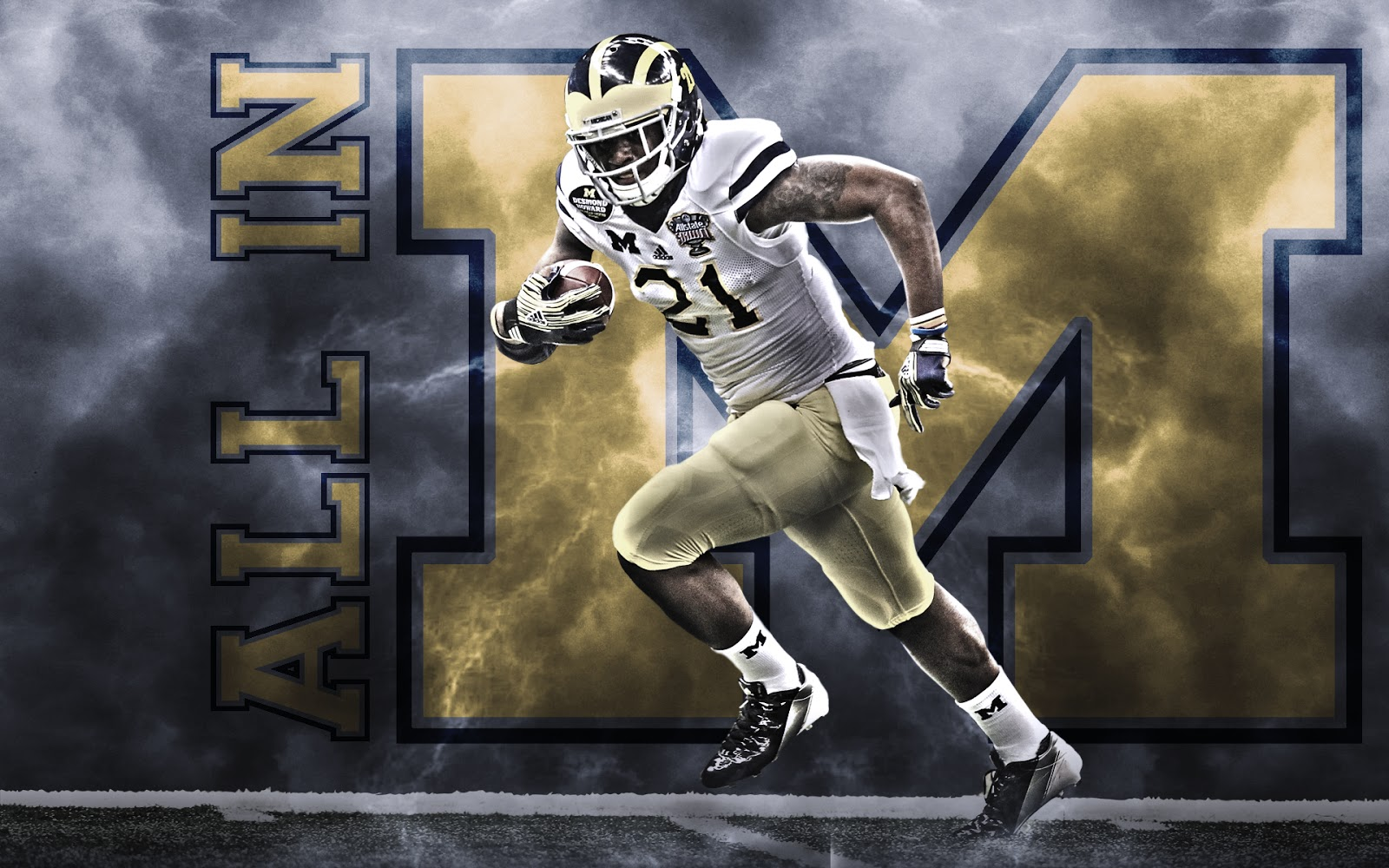 Awesome Michigan Wolverines Wallpaper: Michigan Wolverines