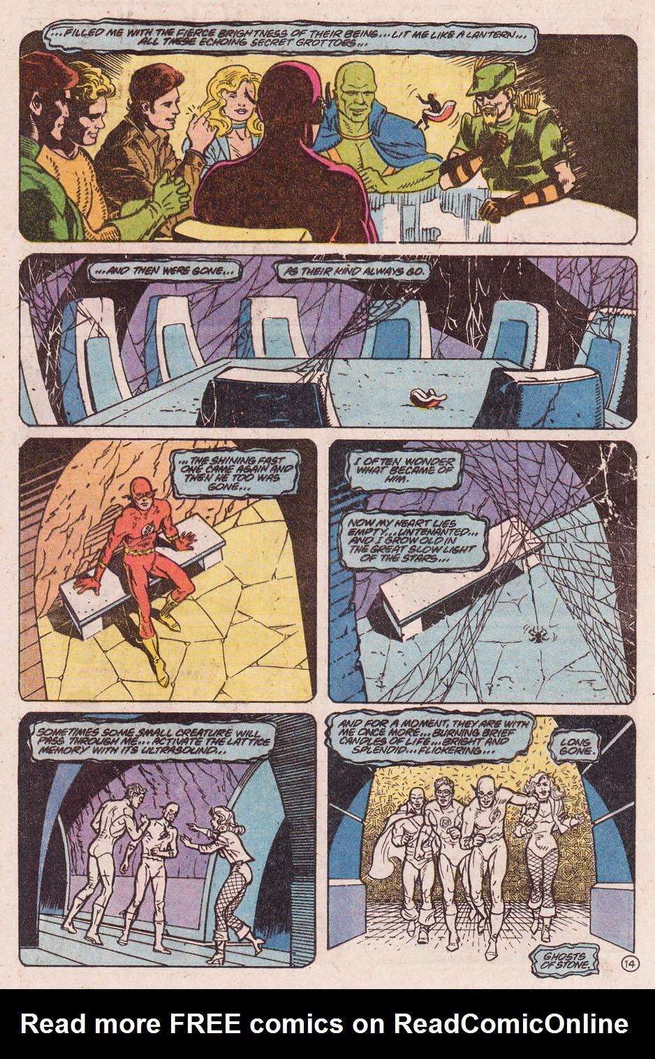 Read online Secret Origins (1986) comic -  Issue #46 - 15