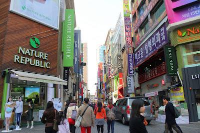 Berbelanja di Korea Selatan
