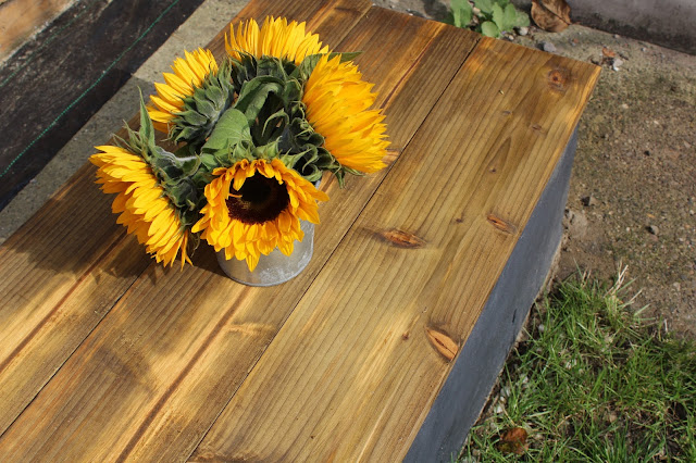coffee table for the garden