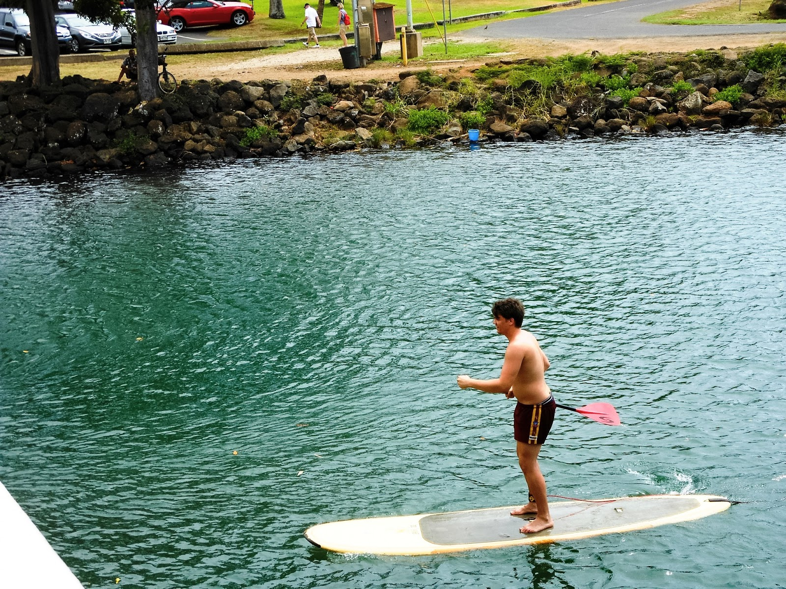stand up paddle boarding on oahu
