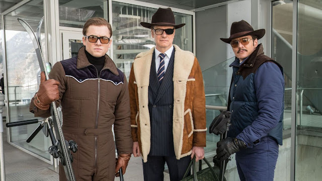 Taron Egerton Colin Firth Pedro Pascal Matthew Vaughn | Kingsman: The Golden Circle