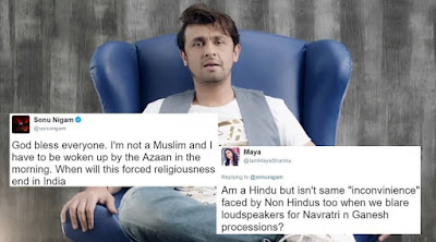 I Agree With Sonu Nigam, Azan Is Noise Pollution
