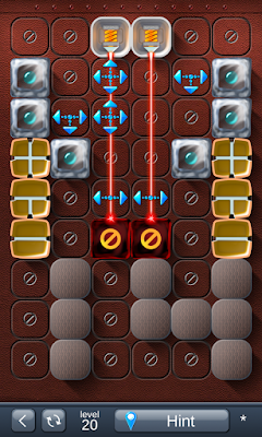Solution for Laser Box - Puzzle (Advanced) Level 20
