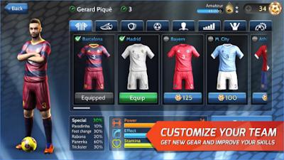Final kick Online Football Apk v4.9 Mod Money