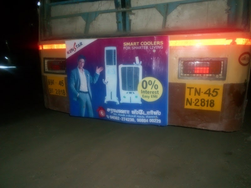 Saravana Stores And Embassy Family Shop Bus Advt Of Saravana Stores