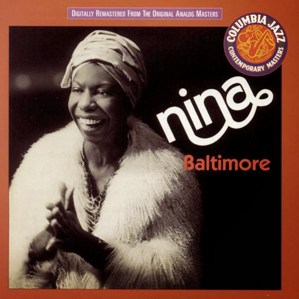 Nina Simone - Baltimore - Single Cover