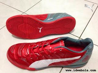 Sepatu Futsal Puma Evopower Dragon Merah