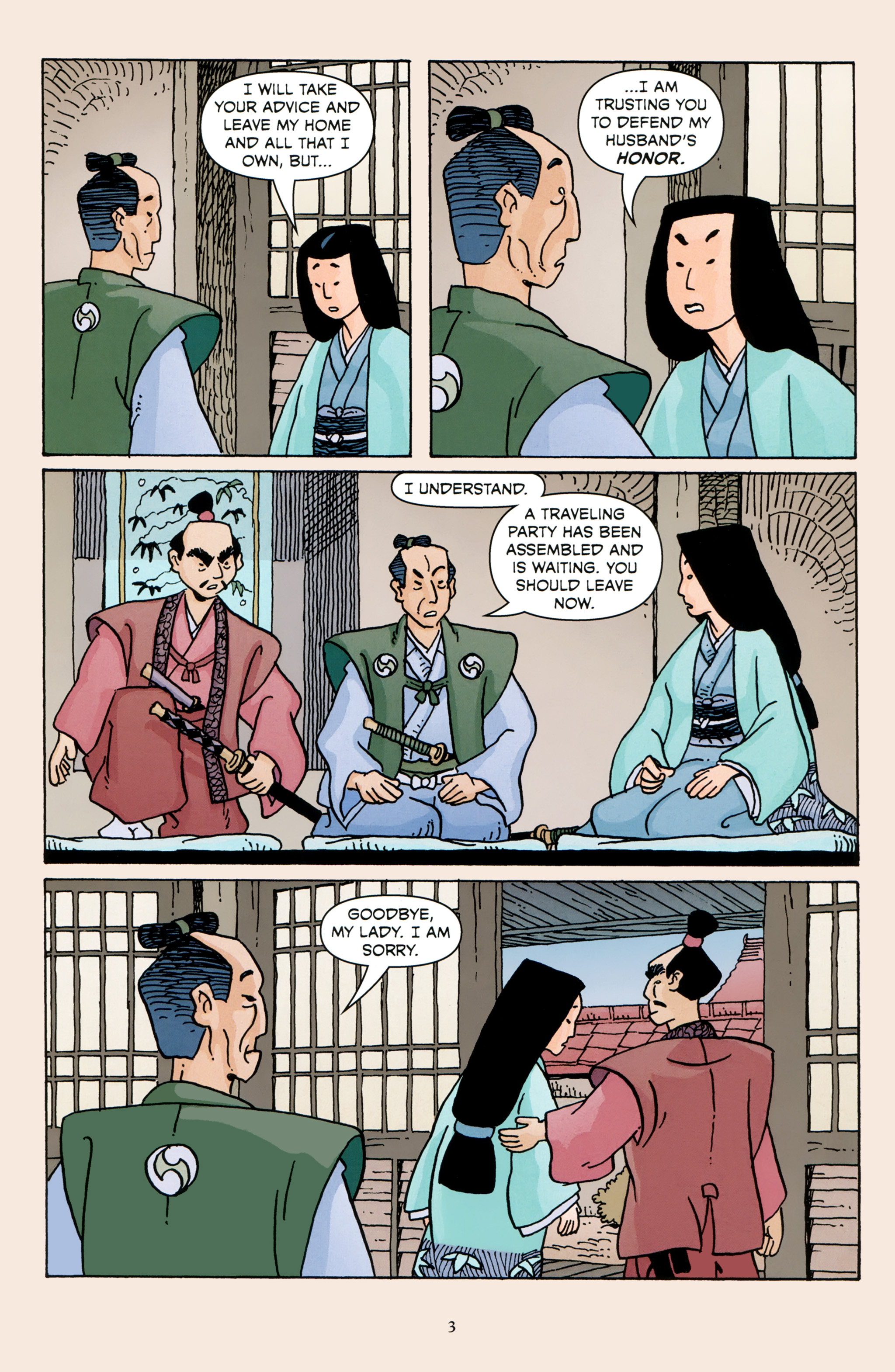 Read online 47 Ronin comic -  Issue #3 - 5
