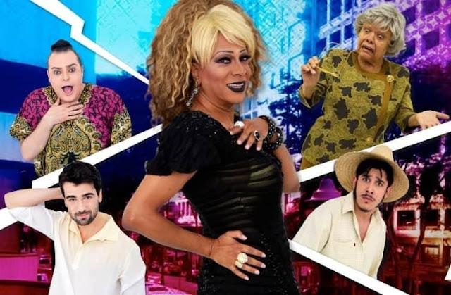 """Silvetty Montilla estreia a comédia """"O Nome dela é Valdemar""""."""