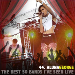 The Best 50 Bands I've Seen Live: 44. AlunaGeorge