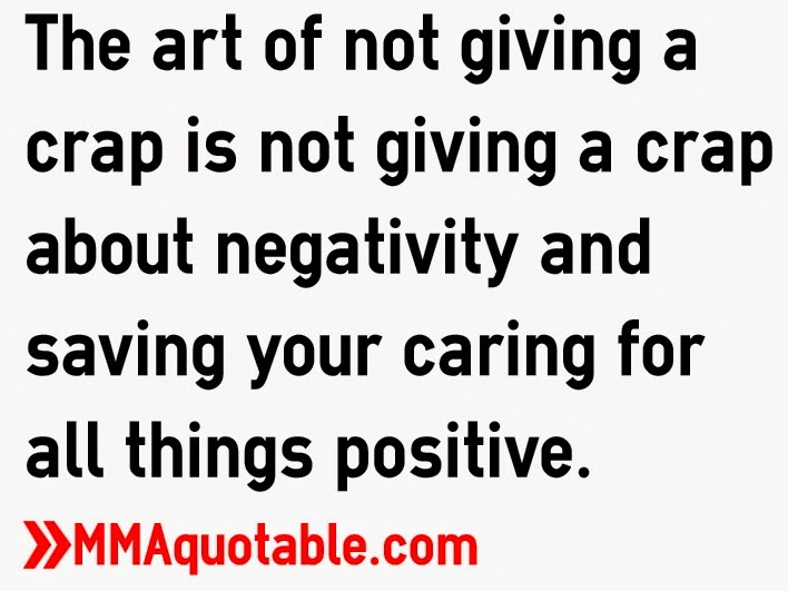 Quotes about not giving a crap