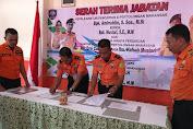 Mustari Resmi Ganti Amiruddin Jabat Ka. Basarnas Makassar