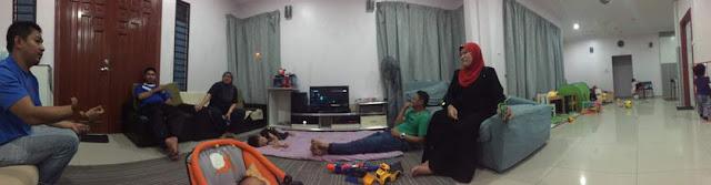 1st Day Buka Puasa 2017 Dengan Ipar Duai