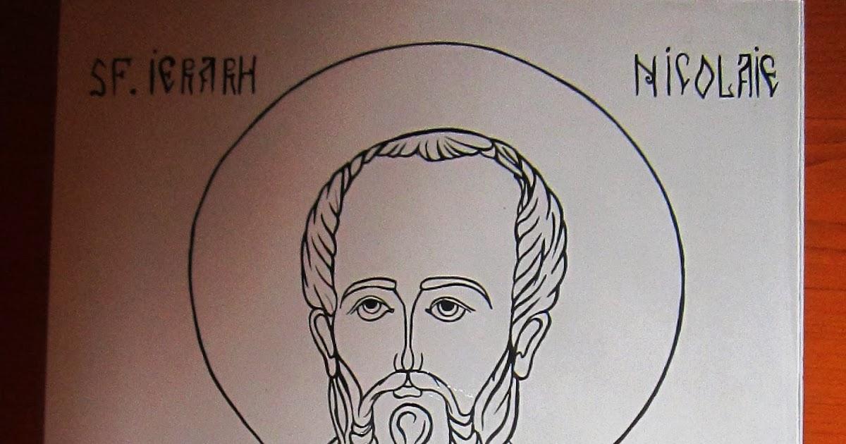 icoane ortodoxe pictate icoana pictata cu sfantul ierarh nicolae 6 dec. Black Bedroom Furniture Sets. Home Design Ideas