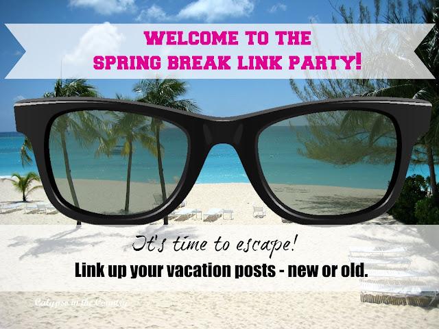 Spring Break Link Party - Link up vacation posts until April 25, 2016