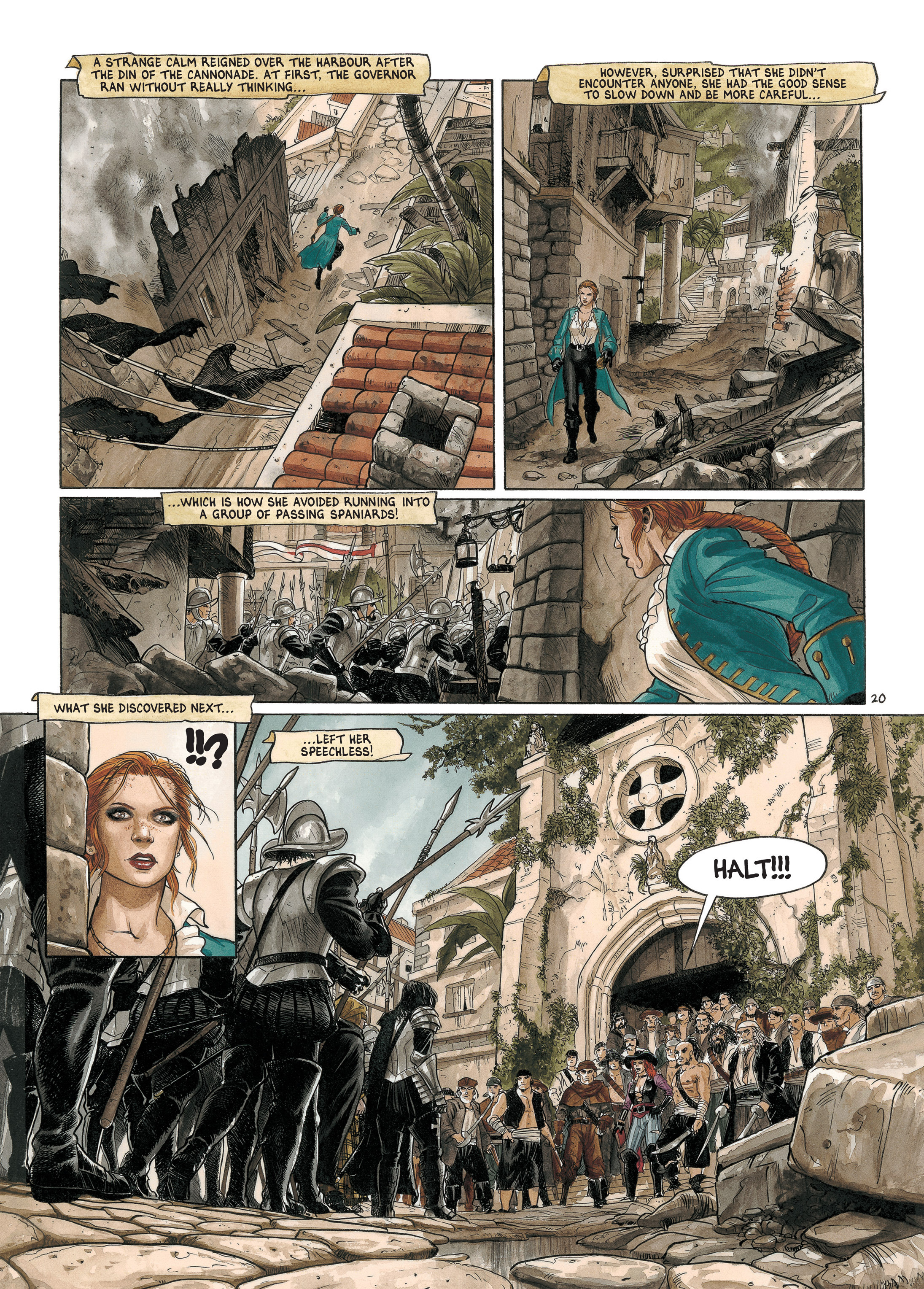 Read online Barracuda comic -  Issue #4 - 23