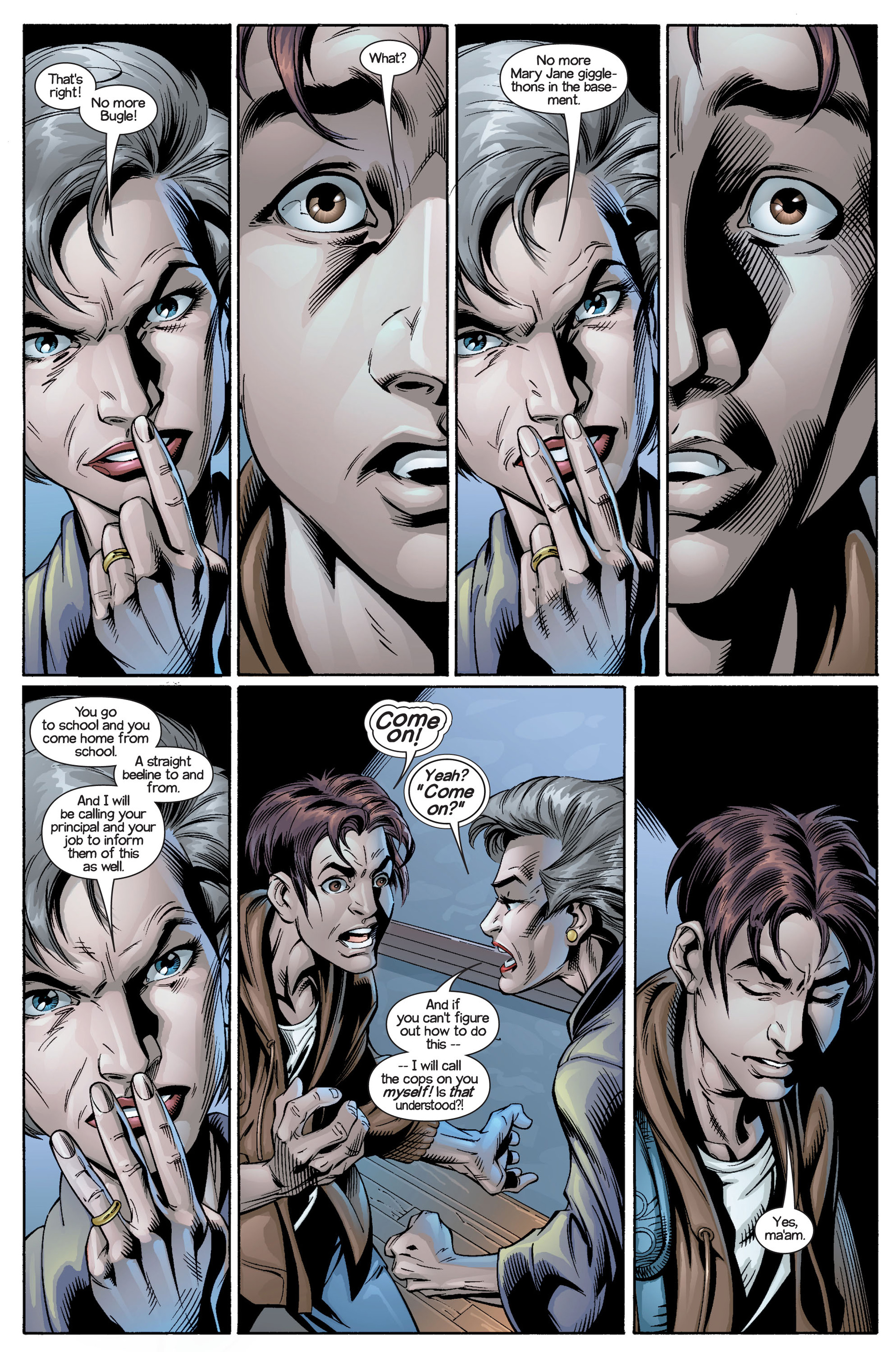 Read online Ultimate Spider-Man (2000) comic -  Issue #21 - 16