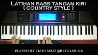Latian Ritem Piano Keyboard Country Style Tempo Cepat