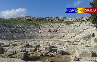 siracusa teatro grego guia portugues - Especial Sicília - Siracusa