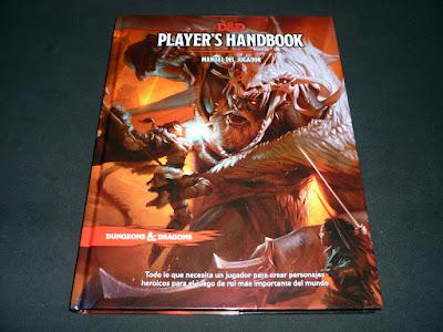 Reseña: D&D 5 Manual del Jugador (EDGE)