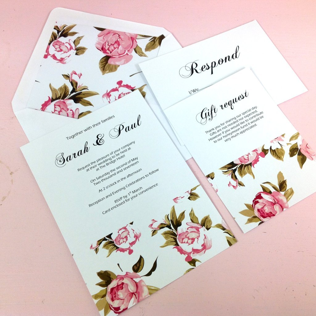 Inspired by Script: WEDDING INVITATION WORDING EXAMPLES
