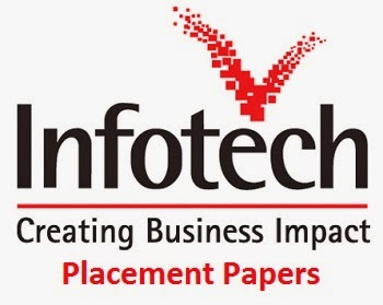 Infotech Placement Papers