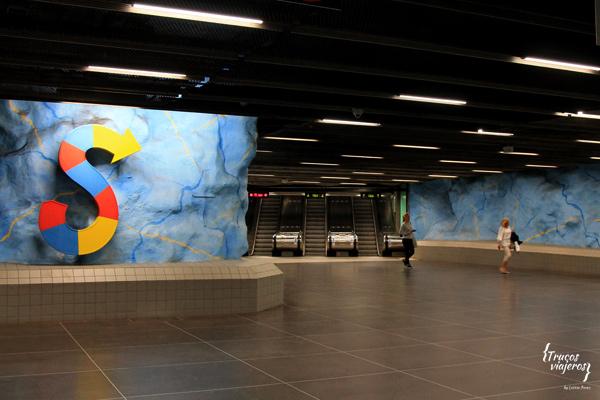 Stadion tunnelbana estación de metro de Estocolmo