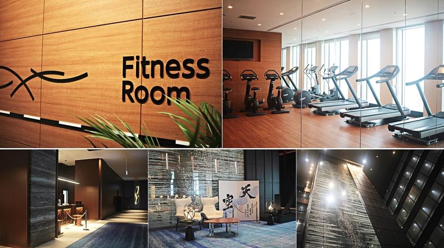 lobby fitness hotel