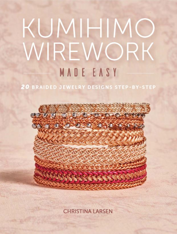 Book Review And Giveaway Kumihimo Wire Jewelry Made Easy The