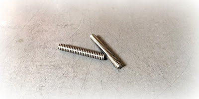 Custom Stainless Threaded Studs - 6-32 X 7/8 Fully Threaded 18-8 Stainless Steel Studs