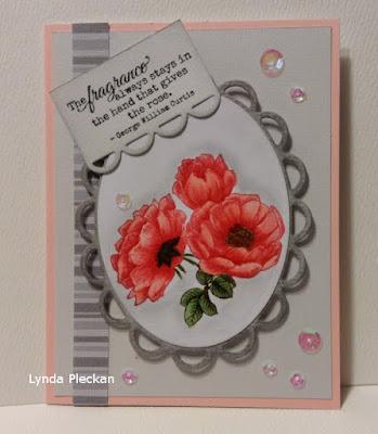 ODBD Fragrance, Card Designer Lynda Pleckan