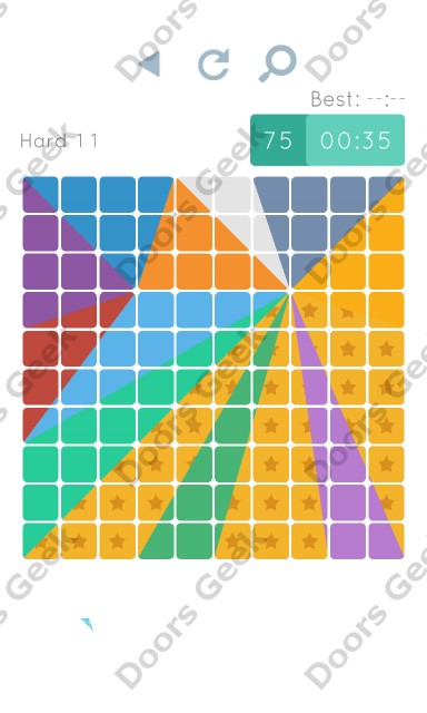 Cheats, Walkthrough for Blocks and Shapes Hard Level 11