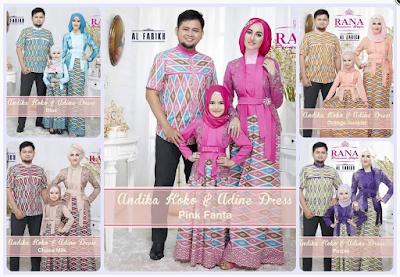 Model Baju Muslim Keluarga Untuk Pesta Perkawinan Terbaru