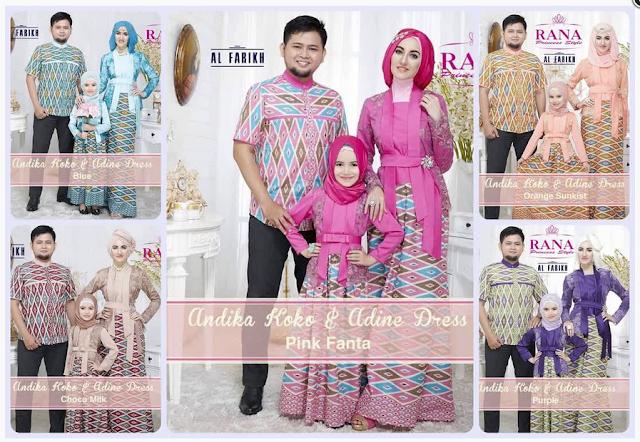 Model Baju Muslim Couple Keluarga Untuk Pesta Formal Terbaru