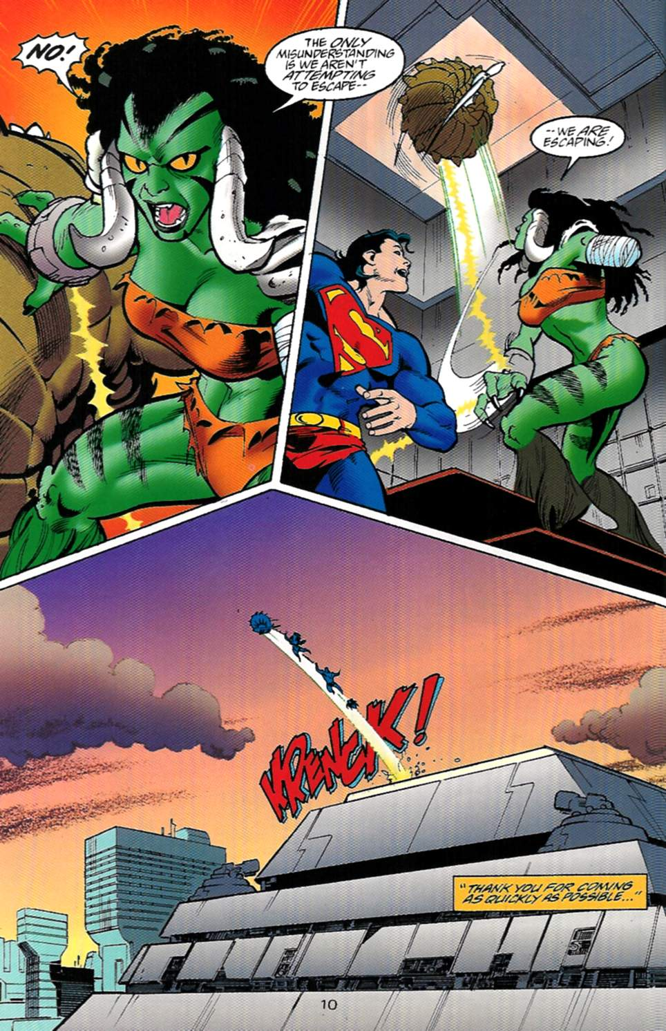Read online Adventures of Superman (1987) comic -  Issue #529 - 11