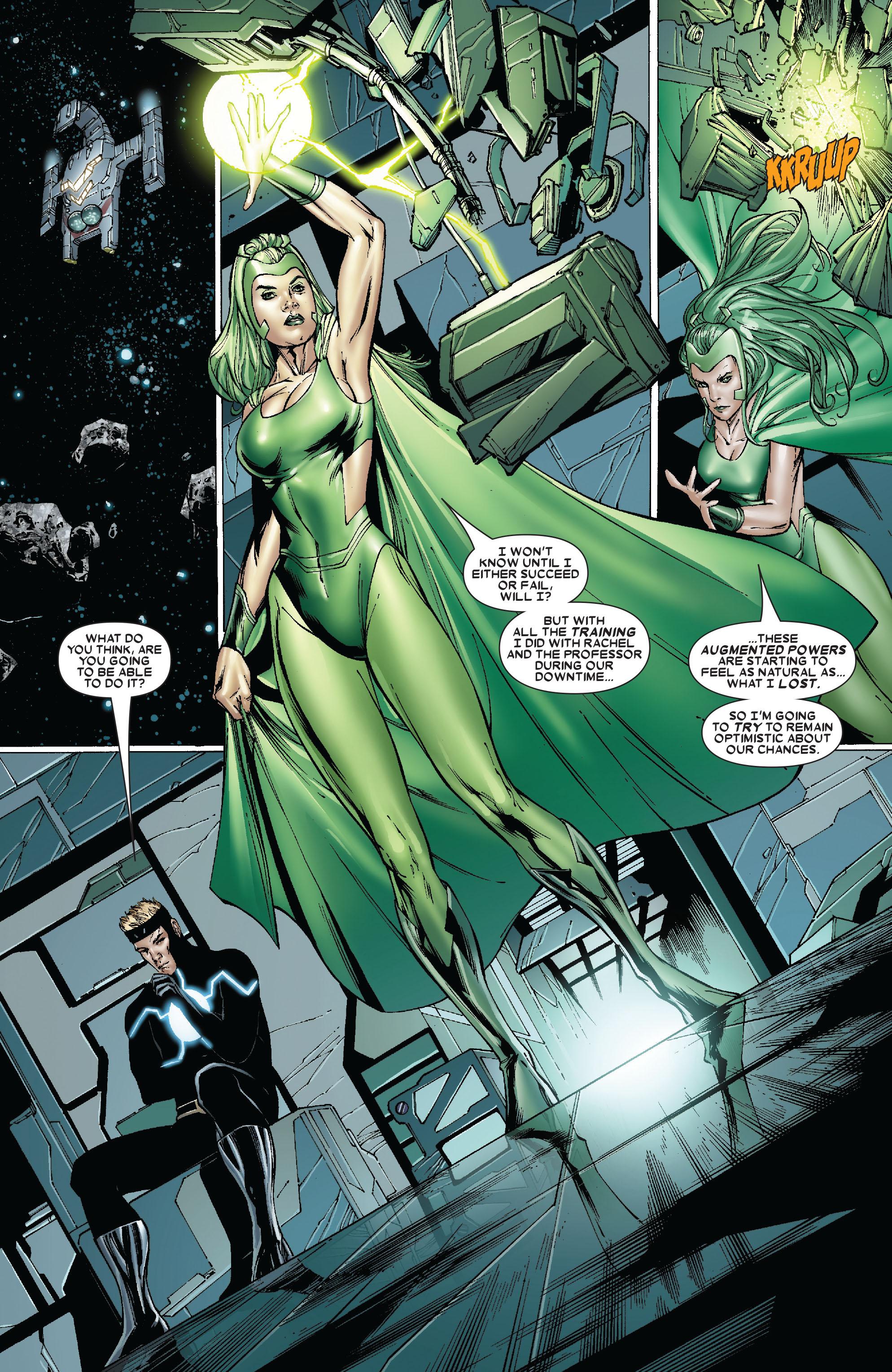 Read online Uncanny X-Men (1963) comic -  Issue #481 - 11