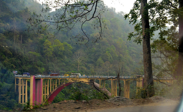 Coronation Bridge, Sevoke near Siliguri, West Bengal