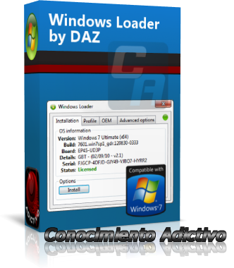 daz loader windows 7 home basic