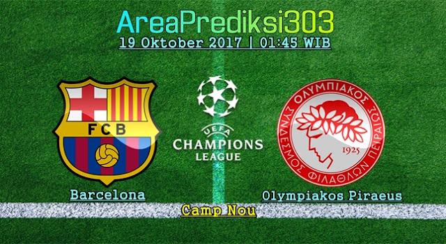 Prediksi Jitu Barcelona vs Olympiakos 19 Oktober 2017