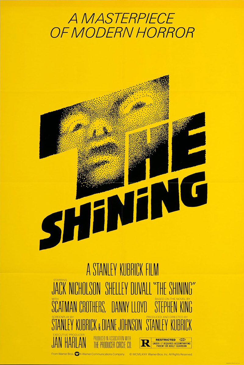 Saul Bass. Doctor Ojiplatico. The Shining