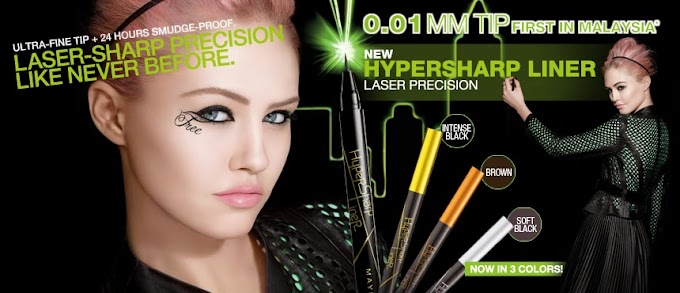[Beauty Review] Maybelline Hypersharp Liner Laser Precision