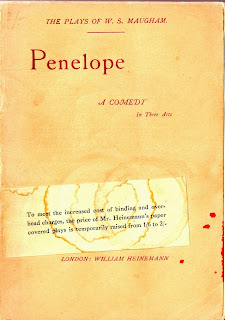 cover of penelope 1912 by somerset maugham