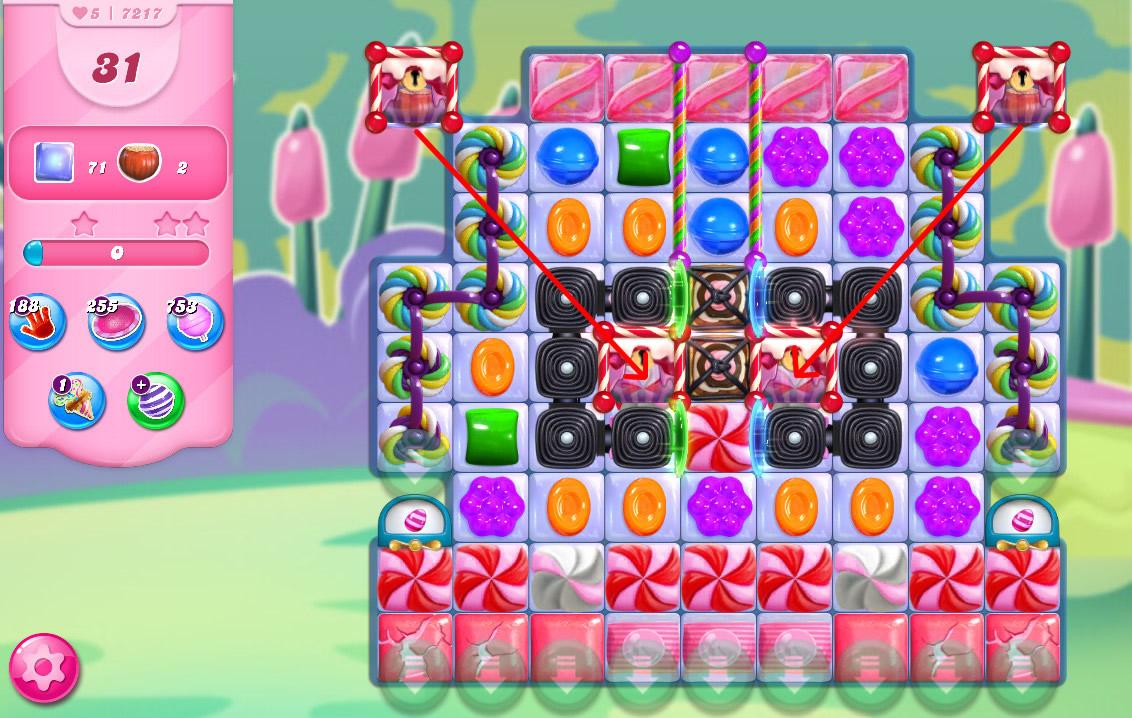 Candy Crush Saga level 7217