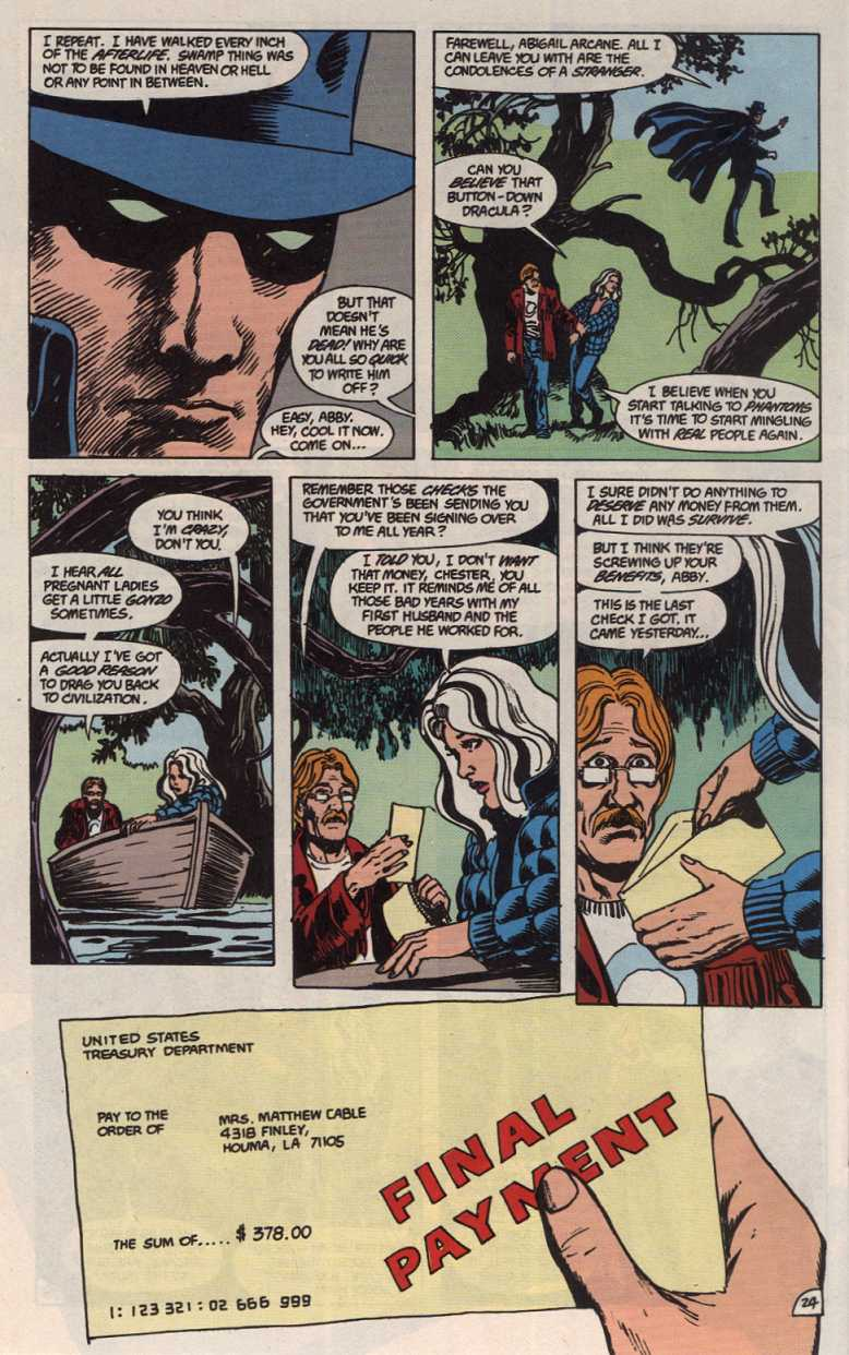 Swamp Thing (1982) Issue #83 #91 - English 24