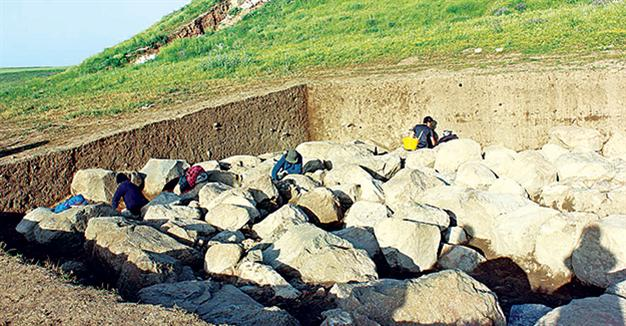 Possible Hittite structures unearthed in central Turkey