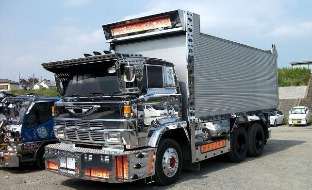 gambar mobil dump truk hino tronton modifikasi